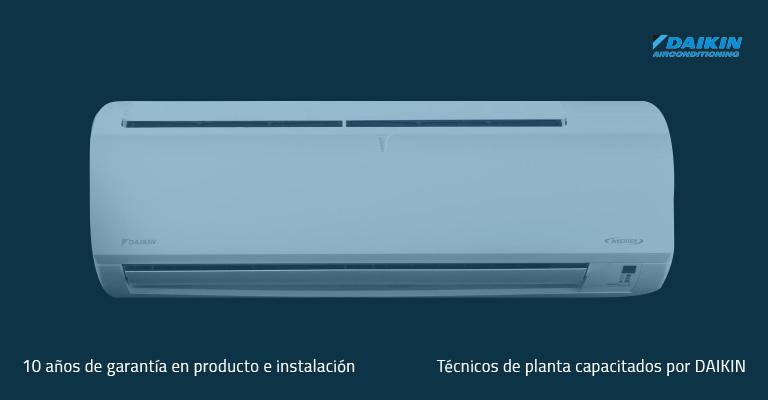 La tecnología inverter A+ de Daikin reduce el consumo de energía hasta en un 50%