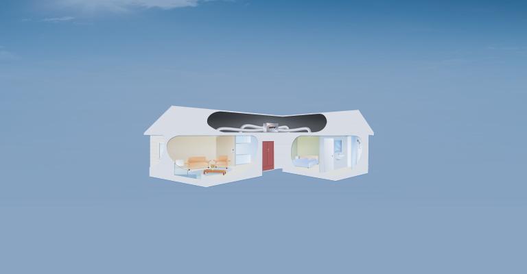 Constante ventilación y purificación de aire
